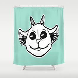 Ned Bayou - single Shower Curtain