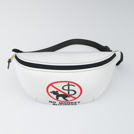 No monkey business Fanny Pack