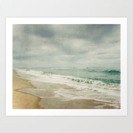 wave 1 Art Print