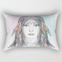 watercolor godess Rectangular Pillow