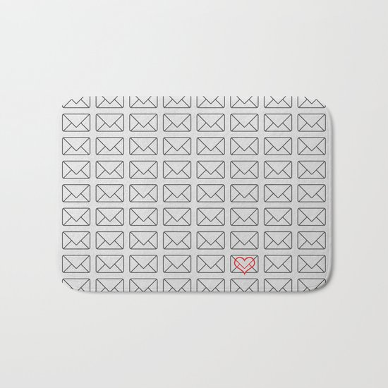 Love note Bath Mat