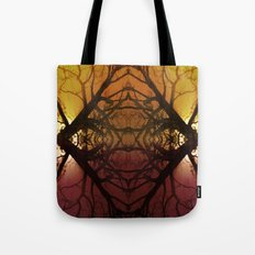 Quad tree #2 Tote Bag
