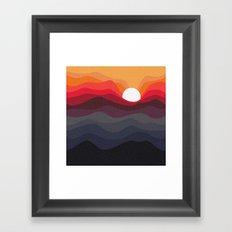 Outono Framed Art Print