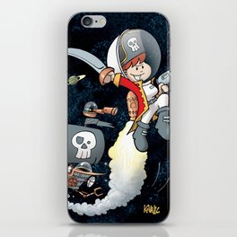 Space Pirate Gilly iPhone Skin