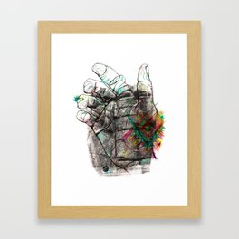 Sheeps Tor Framed Art Print
