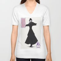 stevie nicks V-neck T-shirts featuring stevie nickes by robert degollado