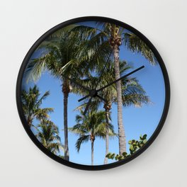 """In the Tropics"" Wall Clock"