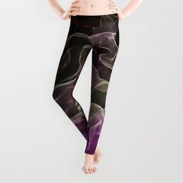 Pink-Coral Ombré Butterfly Wings -String Theory 7 Leggings