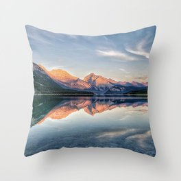 Symphony of Stillness Throw Pillow