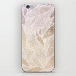 Brownie leaves iPhone Skin