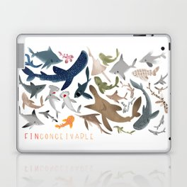 "FINconceivable Still ""Sharks"" Laptop & iPad Skin"