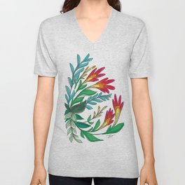 Imaginary Flower vol.1 Unisex V-Neck