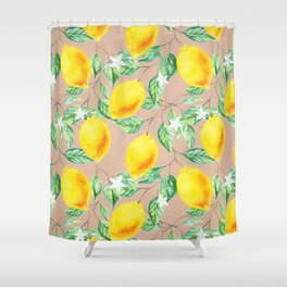 Lemon Fresh #society6 #decor #buyart Shower Curtain