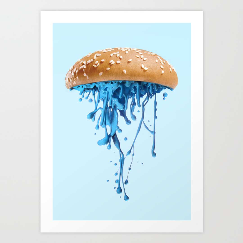animals food and humor art prints society6