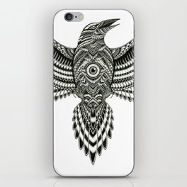 Flying Crow iPhone Skin