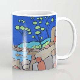 Bay of Fires Tasmania  Ocean Beach Coffee Mug