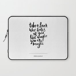 take a lover Laptop Sleeve