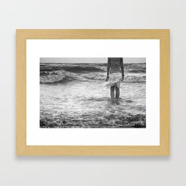 The Siren's Prequel Framed Art Print
