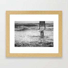 The Siren's Prequel Framed Art Print
