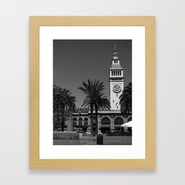 San Francisco Ferry Building Framed Art Print