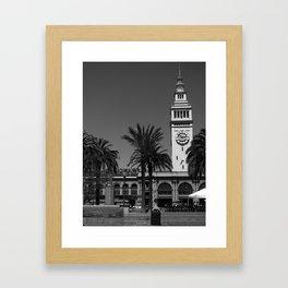 San Francisco Ferry Building Framed Art Print