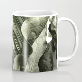 Curvey Leafy Coffee Mug