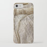 lace iPhone & iPod Cases featuring Lace by Jillian Audrey