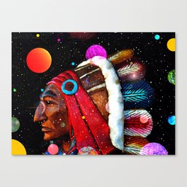 Red Cloud's vision Canvas Print
