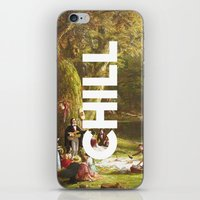 chill iPhone & iPod Skins featuring Chill by eARTh