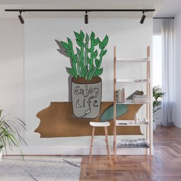 """Lucky"" Bamboo Wall Mural"