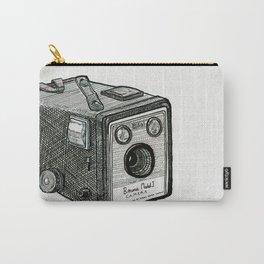 Kodak Box Brownie Camera Illustration Carry-All Pouch