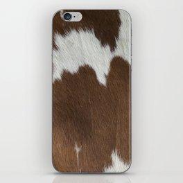 Cowhide v2 iPhone Skin