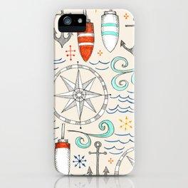 nautical iPhone Case