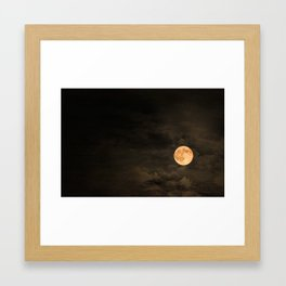 Mr Moon Framed Art Print