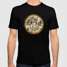 The Torment of Saint Anthony, mauled by Demons, Animals, et al T-shirt