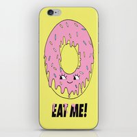 donut iPhone & iPod Skins featuring Donut by Eduardo Doreni