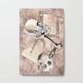 Sepulchral Solace: Persephone & Hades Metal Print