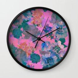 Le Fluer Fushia Wall Clock