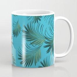 Tropical Palms Pattern #2 #tropical #decor #art #society6 Coffee Mug