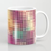 tetris Mugs featuring Colored Tetris by jbjart
