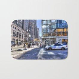 New York City Street Scene Bath Mat