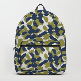 odrina (lime/navy) Backpack