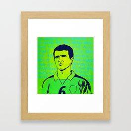 Roy Keane Framed Art Print