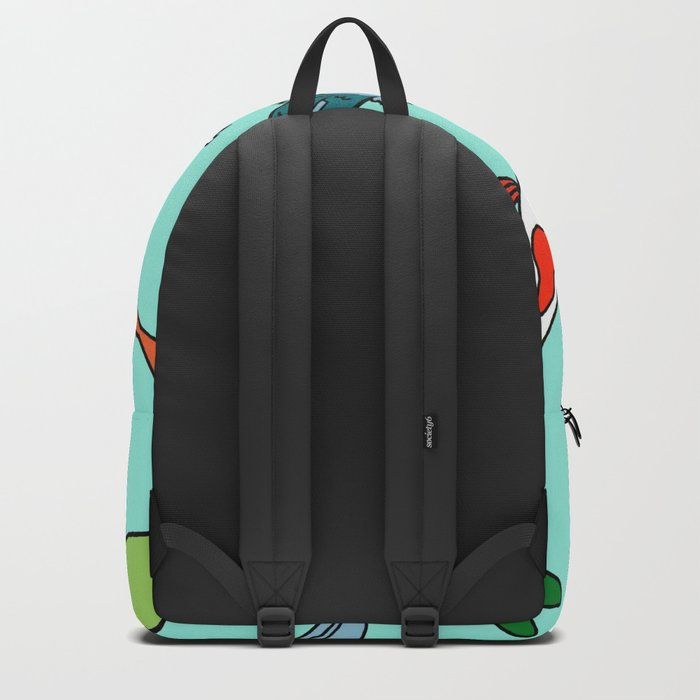 Koi Fish Meeting Backpack
