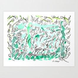 Sampaguita Art Print