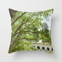 Bryant Park II Throw Pillow
