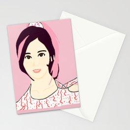 Knock Knock! Sana Pink Stationery Cards