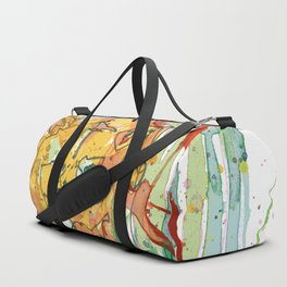 Lonely Lion Hearts Duffle Bag