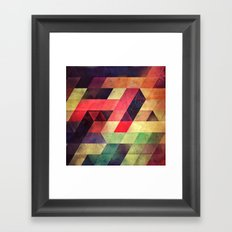 fynd yff Framed Art Print