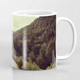 Between Mountains  Coffee Mug